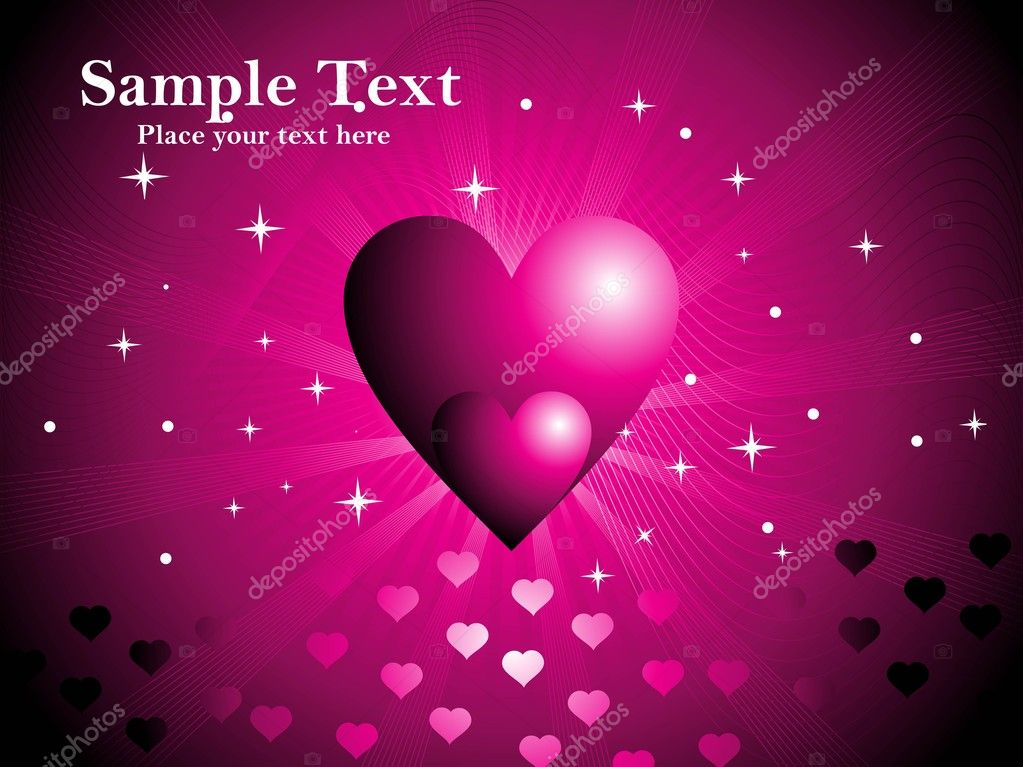 Valentines day card  Stock Vector #3113612