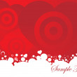 图库矢量图片: Vector illustration of valentines ornament heart, design5