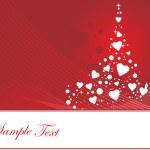 バレンタインの飾りの心臓、design4 のベクトル イラスト — ストックベクタ