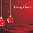 Background for christmas day celebration — Image vectorielle
