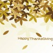 Wallpaper for thank giving day — Stock Vector #3287491