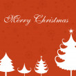 Vector illustration of merry xmas background - Imagens vectoriais em stock