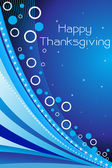 Vector for happy thankgiving day — Stock Vector