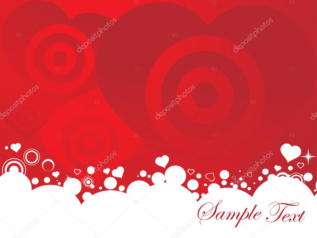 Vector illustration of valentines ornament heart, design5 — Stok Vektör #3281163