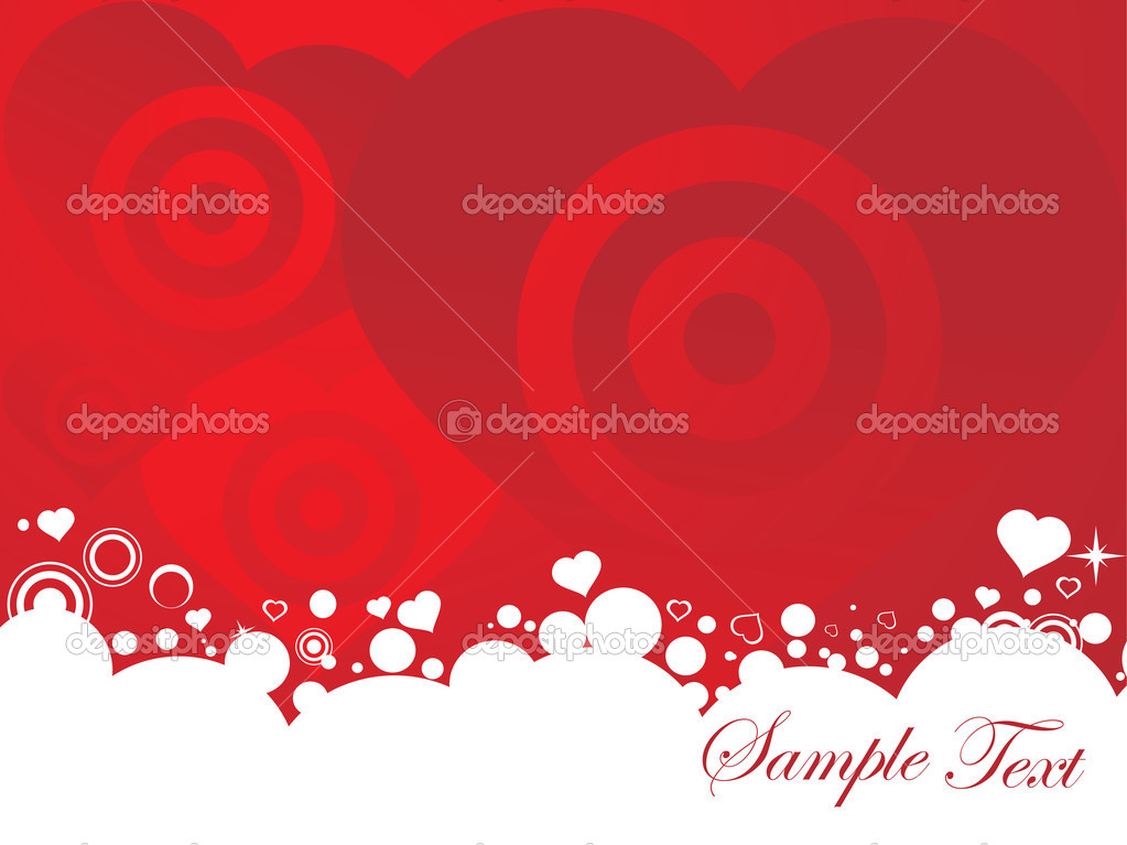 Vector illustration of valentines ornament heart, design5  Stockvectorbeeld #3281163