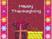 иллюстрация для thankgiving счастливый день — Cтоковый вектор