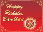 Ilustrace pro raksha bandhan — Stock vektor