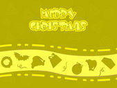 Background for christmas — Stock Vector