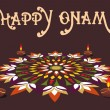 Onam background for celebration - Stock Vector