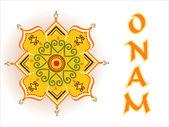 Illustration for onam — Stock Vector