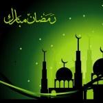 Vector ramadan background — Stock Vector