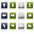 Vector set of business icons — Stock Vector