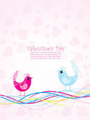 Illustration for valentine day — Stock Vector
