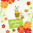 Background for mother day — Imagens vectoriais em stock