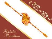 Background for rakshabandhan — Stock Vector