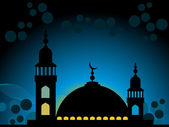Illustration of ramadan background — Stock Vector