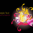 Wallpaper for valentine day — Vector de stock #3725554