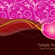 Beautiful romantic background - Image vectorielle