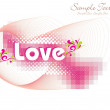 Illustration for valentine day - Image vectorielle