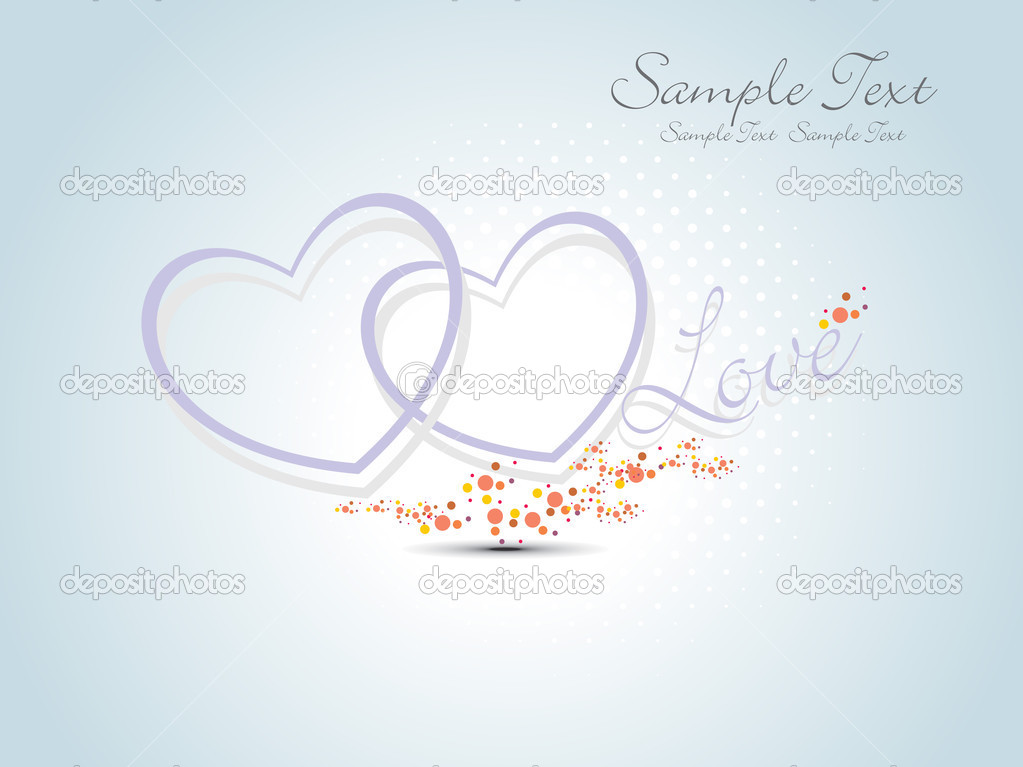 Beautiful illustration for valentine day — Stock Vector #3725826