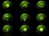 Vektor uppsättning ikoner — Stockvektor
