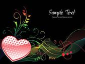 Beautiful abstract illustration for valentine day — Stock Vector