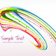 Abstract colorful artwork background — Stock Vector