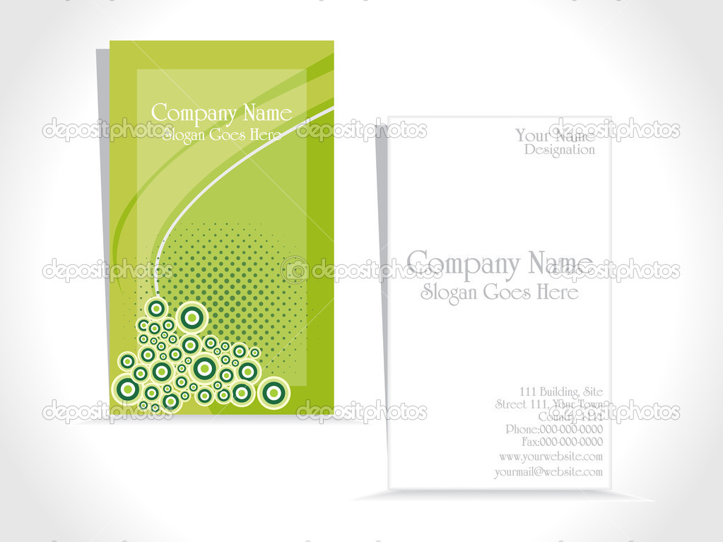 Vector set of business card — Stock Vector