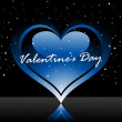 Beautiful illustration for valentine day — Imagens vectoriais em stock