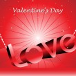Beautiful illustration for valentine day — Stock Vector #3822764