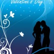 Beautiful illustration for valentine day - Stok Vektör