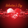 Beautiful illustration for valentine day — Stock Vector #3822865