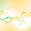 Romantic illustration for valentine day - Imagens vectoriais em stock