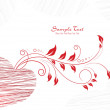 Vector de stock : Romantic illustration for valentine day