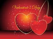 Beautiful illustration for valentine day — Stockvektor