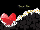 Romantic illustration for valentine day — Stock Vector