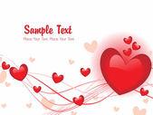 Sevgililer günü için romantik illüstrasyon — Stok Vektör