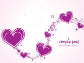 Romantic illustration for valentine day — Cтоковый вектор