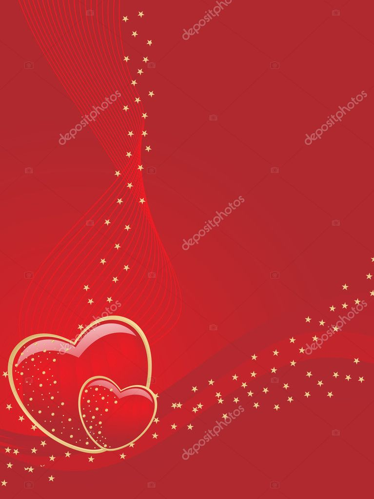 Beautiful romantic illustration for valentine day  Stock Vector #3823568