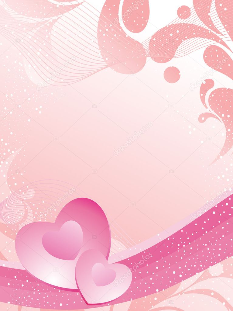 Beautiful romantic illustration for valentine day  Stock Vector #3823639