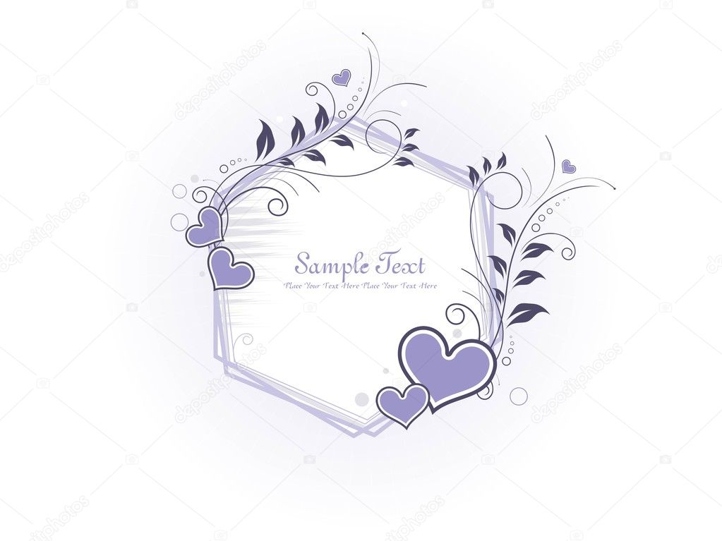 Beautiful romantic illustration for valentine day — Stock Vector #3823696