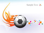 Abstract sports background illustration — Stock Vector