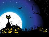 Illustration for halloween day — Stock Vector