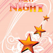 Royalty-Free Stock Vector Image: Party night background