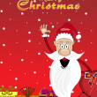 Background for merry christmas - Stock Vector