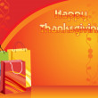 Illustration for happy thankgiving day — Imagen vectorial