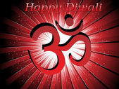 Fondo para la celebración de diwali — Vector de stock