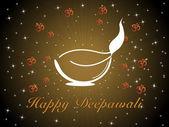 Fundo para a celebração do diwali — Vetorial Stock