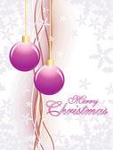 Illustratie voor merry xmas viering — Stockvector