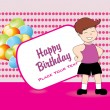 Happy birthday background — Stock Vector #3953927